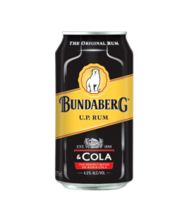 Bundaberg UP Rum & Cola Cans