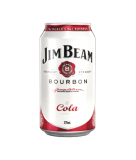 Jim Beam White Label Bourbon & Cola Cans