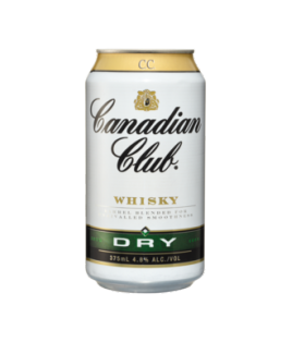 Canadian Club Whisky & Dry Cans